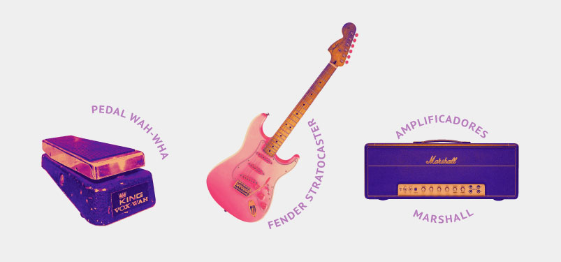 Jimi Hendrix's tools